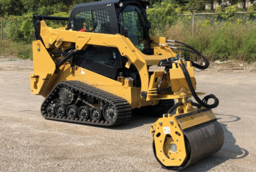 Road Widener brings heightened safety with offset vibratory roller attachment