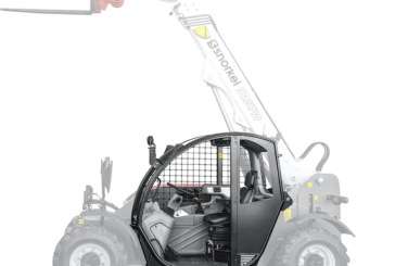 Snorkel telehandlers now available with open cabs