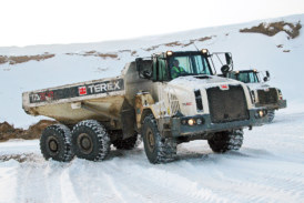 Five ways to maintain your dump truck during winter