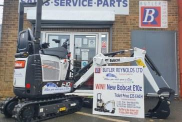 Dealer holds excavator raffle to support children's charity