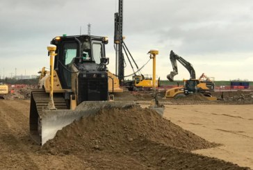 Domination of all new D5 Dozer begins in Wales