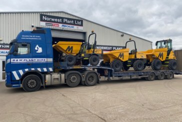 Norwest Plant agrees multi-million pound site dumper deal