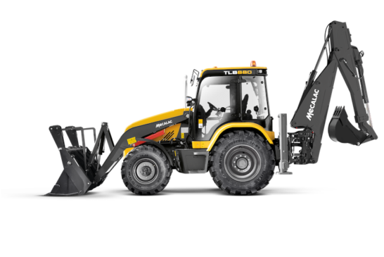 Mecalac unveils all-new TLB880 backhoe loader