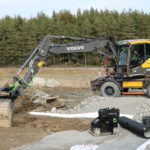Steelwrist and Volvo CE launch SQ Auto Connect quick couplers on excavators