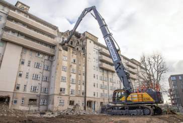 Wooldridge Demolition adds high-reach Volvo EC750EL