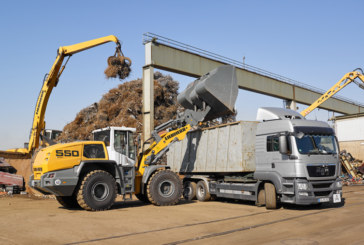Liebherr introduces performance increase to L550 and L556XPower wheel loaders