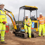 GAP Group supplies major customer with zero emissions electric excavator for trial
