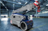 MANITEX VALLA launches the new ultra-compact 3.6 tonne V 36 R electric mobile crane