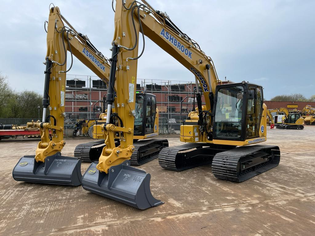 ASHBROOK is first in the UK to receive Cat 315 GC