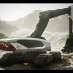 Doosan Concept-X Excavator wins iF Design Gold Award