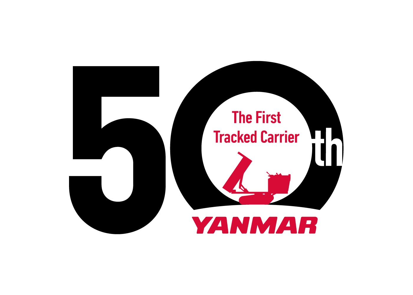 Yanmar celebrates 50th anniversary of tracked carrier