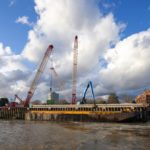 Tideway east section barges ahead with Walsh and Land & Water