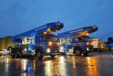 Nationwide Platforms expands fleet with truck-mounted Bronto Skylift 70m aerial platforms