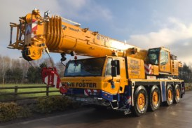 Steve Foster Cranes takes delivery of Tadano ATF-220-5.1 and ATF 100G-4 all-terrain cranes
