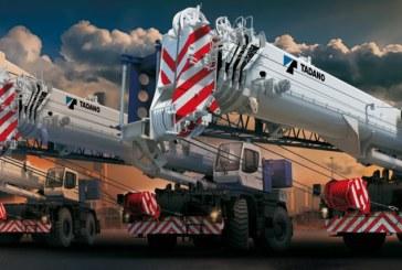 Tadano launches a new line of rough terrain cranes for the European market