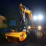 JCB's pothole fixer proves its worth on M6 fast lane night shift