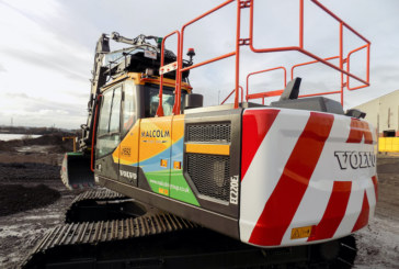 The Malcolm Group go back to Volvo with an order for 6 new excavators