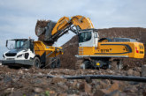 Two new local zero emission excavators from Liebherr: R 976-E and R 980 SME-E electric crawler excavators