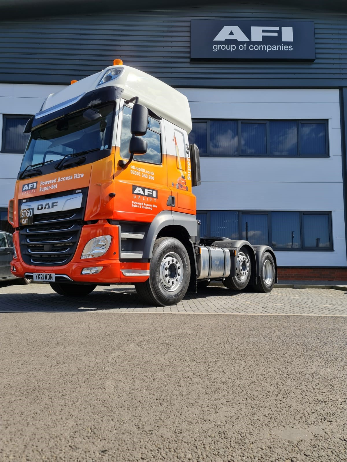 AFI invests to double delivery capacity for Super-Set range of large MEWPs