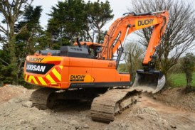 Duchy Plant Hire expands with 15 new Doosan excavators