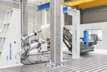 Liebherr relies on HBK force sensors for structural testing of excavators