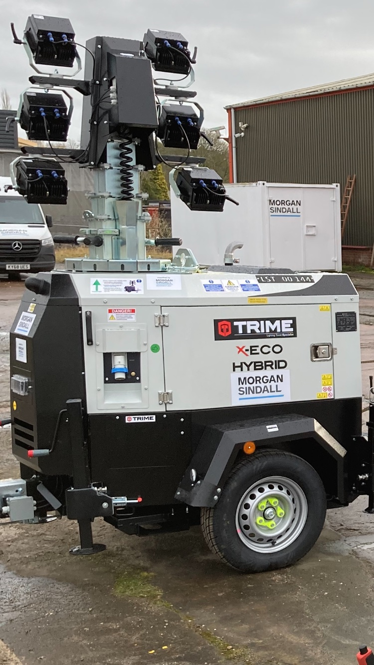 Magnor Plant goes hybrid with Trime lighting towers
