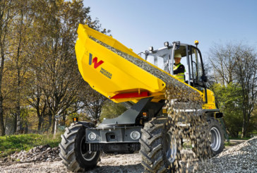 DW60 and DW90 from WackerNeuson | Economical and safe material transport
