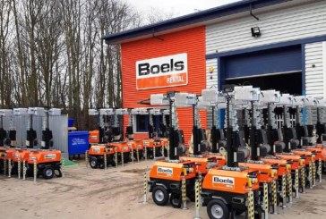 Boels lights up COVID-19 testing sites