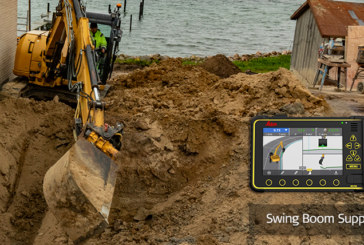 Leica Geosystemsintroduces 3D machine control solution for compact excavators and backhoes with swing boom