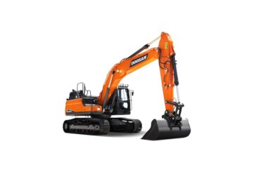 Doosan unveils new DX225LC-7 crawler excavator