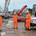 Innovative equipment keeps HS2 carbon free dream on track as new station build begins