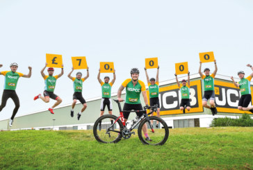 70,000 reasons to smile as JCB launches Platinum Jubilee appeal