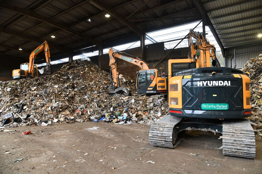 Waste Recycling firm McCarthy Marland invest in new Hyundai fleet