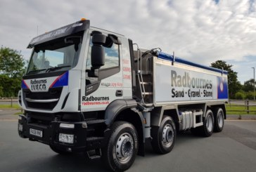 IVECO tippers are tip top for Radbournes