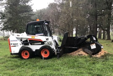 Bobcat SG60 clears stumps at Spanish golf course