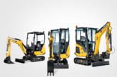 Yanmar announce three new mini excavators