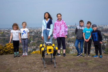 """Scotland's first """"Spot"""" robot set to save lives, cut CO2 and support construction"""