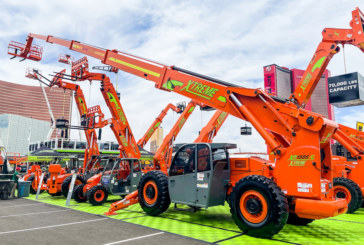 World's tallest fixed boom telehandler debuts at World of Concrete 2021