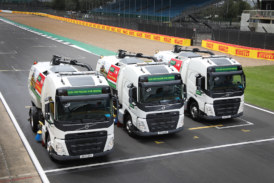 New Volvo FM sweepers make track debut for Kelly Plant Hire
