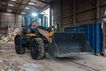 First new 721G CASE Wheel Loader in Great Britain