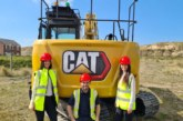 Cat excavators for the next generation in groundworks contracting