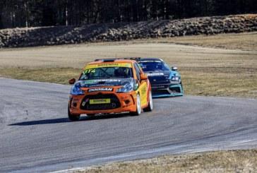 Arctic Circle race car carries Rosendal & Doosan colours