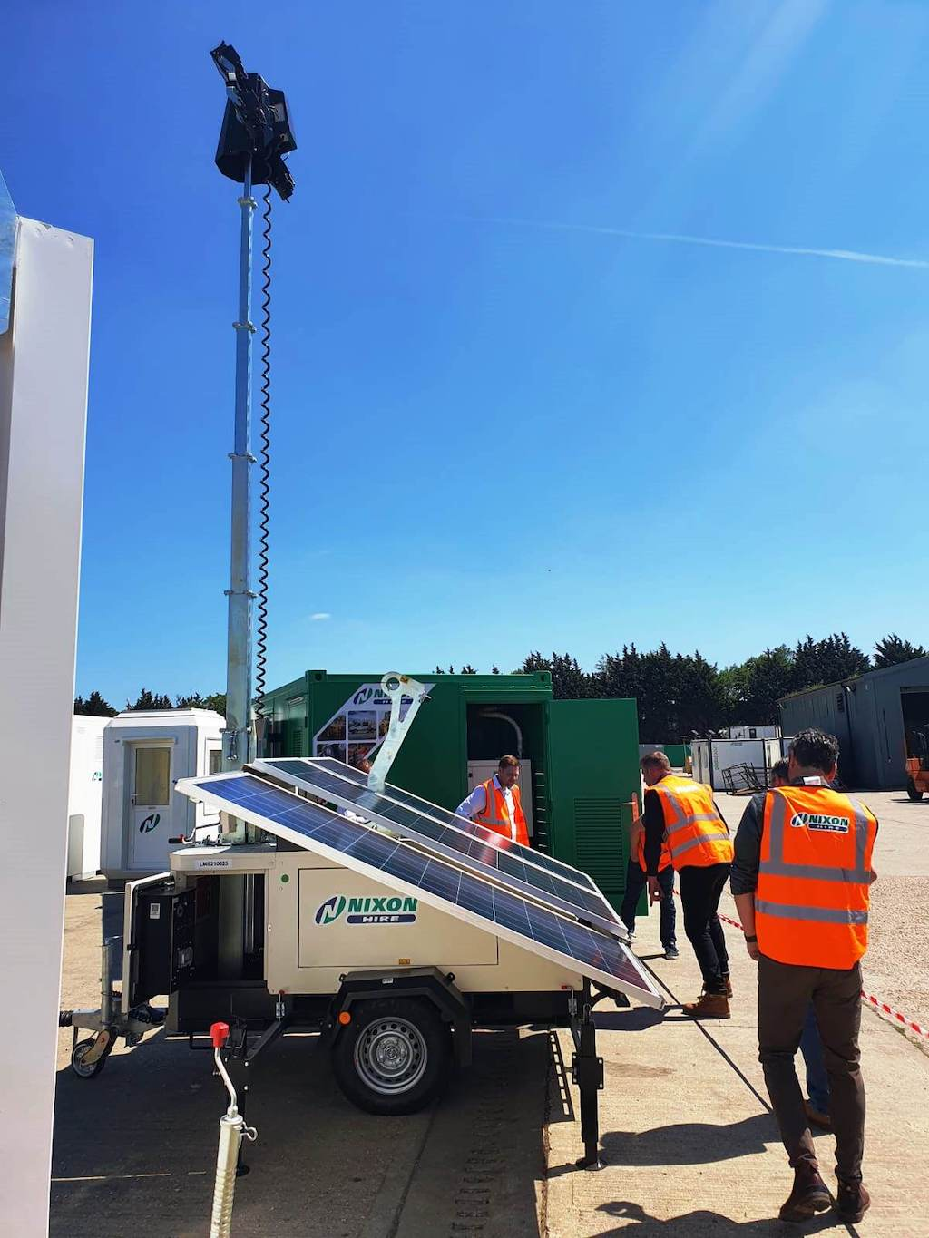 Nixon Hire invests in emission-free lighting towers