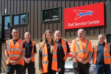 Speedy centre helps East Anglia rail contractors to meet sustainability targets