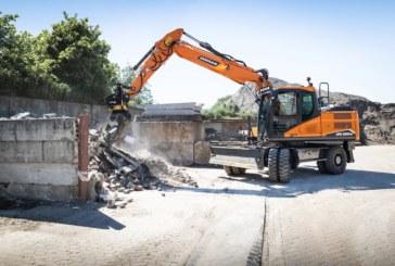 Doosan raises curtain on new generation DX140W-7 and DX160W-7 Stage V wheeled excavators