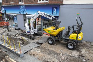 Eurovia Contracting buys UK's first electric Volvo mini excavator