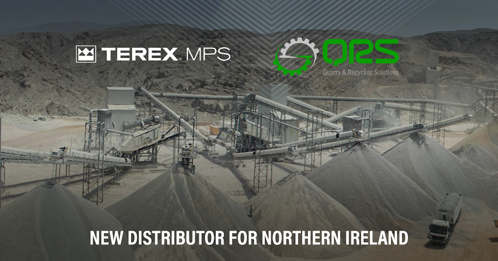 Terex Minerals Processing Systems Announce New distributor for Northern Ireland