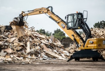 The new Cat MH3026 Material Handler offers high performance with lower operating costs