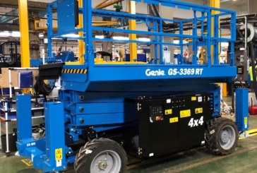 Genie adds production of rough-terrain and all-electric scissor lifts in Europe