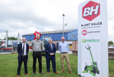 Merlo Construction range now available from BH Plant Sales